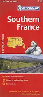 Michelin Southern France Map 725 (Maps/Country (Michelin))