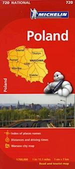 Michelin Poland (Michelin Maps, nr. 720)