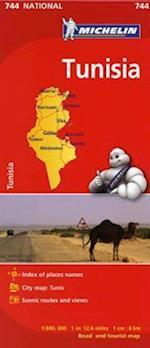 Michelin Tunisia (Michelin Maps, nr. 744)