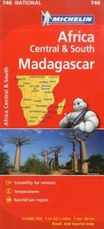 Michelin Africa Central & South Madagascar