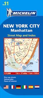 New York City & Manhattan, Michelin City Plan 11 (Michelin City Plans, nr. 11)