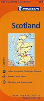 Michelin Scotland Map