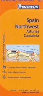 Michelin Spain Northwest, Asturias Cantabria/ Espagne Nord-Ouest Asturies Cantabrie (Michelin)