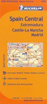 Michelin Spain Central, Extremadura, Castilla-la Mancha Madrid (Michelin)