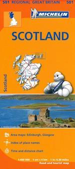Michelin Great Britain Blad 501: Scotland 1:400.000 (Michelin Regional Maps Great Britain, nr. 501)
