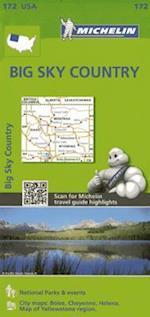 Michelin USA Big Sky Country 172 (Michelin Zoom USA Maps)