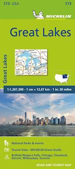 Michelin Great Lakes (Michelin Zoom USA Maps)