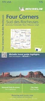 Michelin Four Corners (Michelin Zoom USA Maps)