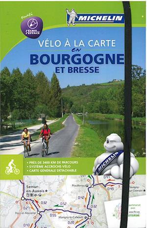 Bog, spiralryg Bourgogne Bike Map & Atlas - Vélo à la carte en Bourgogne et Bresse af Michelin