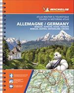Michelin Germany/Austria/Benelux/Switzerland Road Atlas (Michelin Road Atlas Germany Benelux Austria Switzerland Czech Republic)