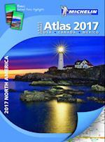 Michelin North America Large Format Atlas 2017 (Michelin)