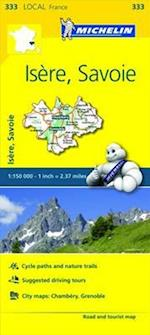 Isere, Savoie, France Local Map 333 (Michelin Local Maps)