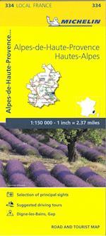 Alpes-de-Haute-Provence, Hautes-Alpes, France Local Map 334 (Michelin Local Maps)
