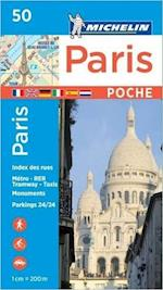 Michelin Paris Pocket Plan Poche 50