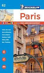 Michelin Paris by Arrondissements Pocket Atlas #62 (Michelin Map Guide)