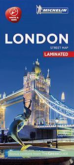 London - Citymap Laminated (Michelin Citymap Laminated)
