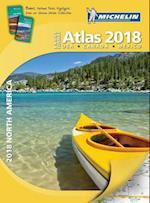 Michelin 2018 North America Large Format Atlas (Michelin North America Atlas Large Format)