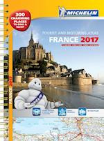 France 2017 Atlas (Tourist Motoring Atlases)