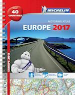 Michelin Europe 2017 Atlas (Michelin Tourist and Motoring Atlases)
