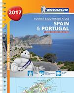 Spain & Portugal 2017, Michelin Tourist & Motoring Atlas af Michelin
