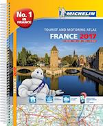 France Atlas 2017 (Michelin Tourist and Motoring Atlases)