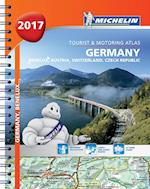 Germany/Austria Atlas 2017 (Michelin Tourist and Motoring Atlases)