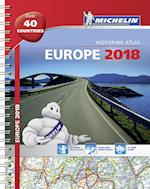 Europe 2018 - Tourist and Motoring Atlas (A4-Spiral) (Michelin Road Atlases)
