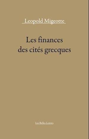 Les Finances Des Cites Grecques