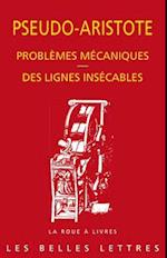 Problemes Mecaniques. Des Lignes Insecables (La roue a livres)