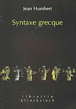 Syntaxe Grecque af Jean Humbert