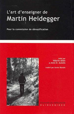 L'Art D'Enseigner de Martin Heidegger