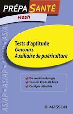Flash Tests d'aptitude Concours Auxiliaire de puericulture af Ghyslaine Benoist
