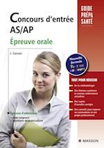 Concours d'entree AS/AP. Epreuve orale