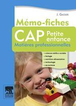 Memo-fiches CAP Petite enfance