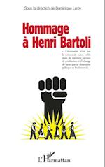 Hommage a Henri Bartoli af Dominique Leroy