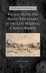 Village Elites and Social Structures in the Late Medieval Campine Region (The Medieval Countryside, nr. 16)