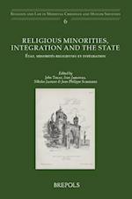 Religious Minorities, Integration and the State / Etat, Minorites Religieuses Et Integration af Ivan Jablonka