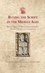 Ruling the Script in the Middle Ages (Utrecht Studies in Medieval Literacy, nr. 35)