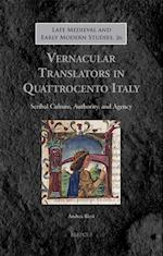 Translating Humanism in Quattrocento Italy (Late Medieval And Early Modern Studies)