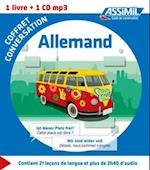 Coffret conversation allemand (guide +CD)
