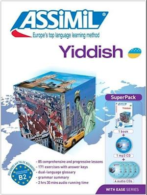 Superpack Yiddish (Book + CDs + 1cd MP3)