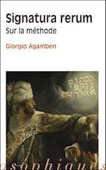 Signatura Rerum (Bibliotheque Des Textes Philosophiques)
