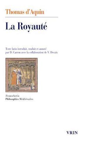 Bog, paperback La Royaute, Au Roi De Chypre af Thomas D'Aquin