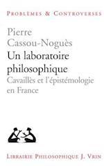 Un Laboratoire Philosophique (Problemes Controverses)