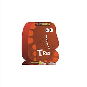 Bog, papbog PlayShapes: T. Rex af Florence Langlois