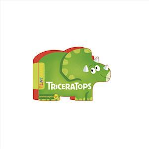 Bog, papbog Playshapes: Triceratops af Florence Langlois