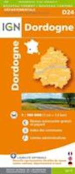 Dordogne (Departement Maps, nr. 24)