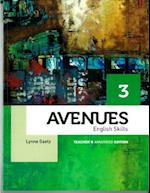 Avenues 3 Skills Annotated Teacher's Edition af Lynne Gaetz