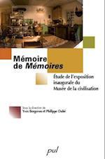 Memoire de Memoires af Bergeron