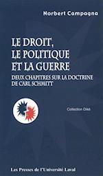 Droit politique et la guerre Le (Dike)